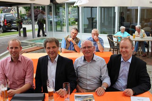 Besuch des Seniorentages der Eisenbahn- und Verkehrsgewerkschaft in Oldenburg mit Oberbürgermeister Jürgen Krogmann.