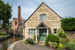 The Old Mill and cottage, Lower Slaughter
