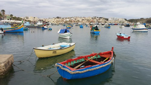 The Harbour at Marsaxlokk