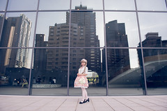 SDF_9509 (SendoFu) Tags: bonnet ボンネット エプロン風スカート blouse bl ブラウス headbow kc カチューシャ bnt 蕾絲 維多利亞 jsk op onepiecedress ワンピース jumperskirt ジャンパースカート nop lolita lolitafashion 蘿莉塔 蘿莉塔時裝 ロリータ・ファッション sweetlolita classicallolita