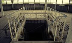 Flickr Friday #ShotFromAbove (Argentarius85) Tags: nikond5300 nikkorafp1855mmvr treppe treppengeländer stairway abandoned banister downstairs flickrfriday shotfromabove bayernturm perspektive perspective abwärts