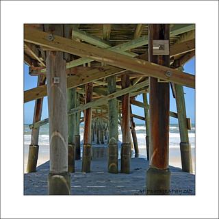 Under Flagler Fishing Pier
