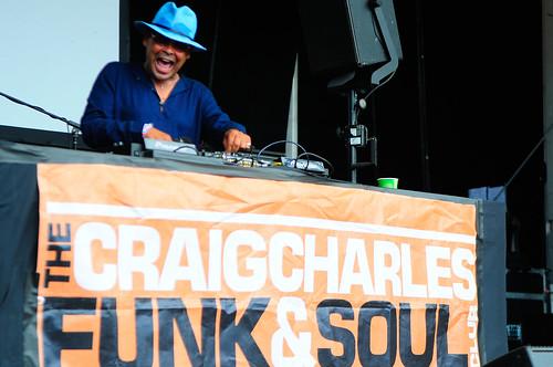 Craig Charles - Glastonbury 2017