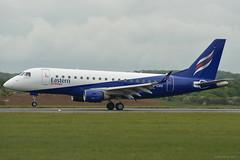 G-CIXV Eastern Airways Embraer 170 EGGW 19/5/17 (David K- IOM Pics) Tags: gcixv g eze eastflight t3 eastern airways embraer 170 e170 eggw ltn london luton airport
