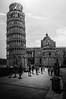 Pisa Tower (Rafa Devesa) Tags: pisa italy italia torre inclinada black white blanco y negro nikon d3200