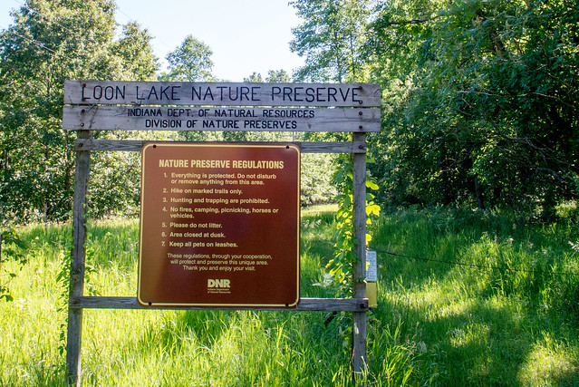 Loon Lake Nature Preserve - June 21, 2017