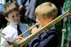 Whit Friday Morning 9 Jun 17 -65 (clowesey) Tags: whit friday brass bands diggle uppermill saddleworth whitfriday diggleband digglebband brassband