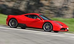 Ferrari, 458 Speciale, Cape D'Aguilar, Hong Kong (Daryl Chapman Photography) Tags: el92 ferrari 458 speciale pan panning sheko