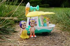 Ice cream van (omgdolls) Tags: sonny angels wiener wednesday owl tiger