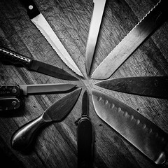 Day 181-365: At the pointy end (LivingStone Images) Tags: 2017 30jun17 365the2017edition 3652017 day181365 knives nikcollection silverefexpro2 werehere