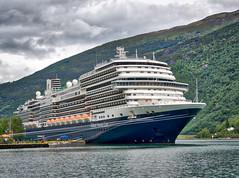 Ms Konigsdam (neil.bulman) Tags: norway cruise ship thomson landofthemidnightsun aurlandsfjorden flam mskoningsdam cruiseship scandanavia hollandamerica thomsoncelebration flåm sognogfjordane no