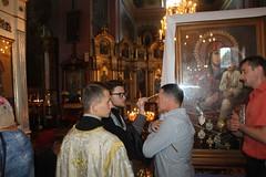 Зустріч Святогірської ікони у Барському кафедральному соборі