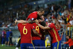 U21Spain vs U21Italy (Kwmrm93) Tags: fodbal voetbal 足球 ποδ σφαιρο футбол サッカー フットボール votebol sports sport soccer nogomet jalkapallo futbol futebol fodbold football fotbal fotball fotboll fusball fussball esport deportivo canon deportiva calcio fudbal uefa under21 championship poland celebrating celebration celebrate spain krakow