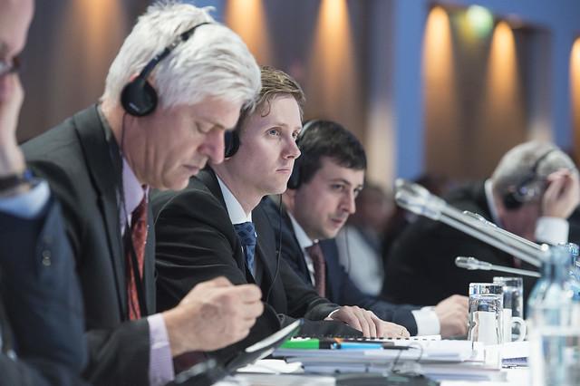 Reynir Jóhannesson in session