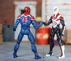 Spider-UK - Marvel Legends (Sandman Series) (Weapon_X_Wolverine) Tags: spiderman spidermanuk msmarvel marvel legends marvellegends comics toys toyreview toyphotography hasbro spideruk