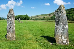 Nether Largie standing stones (life thru a lunk) Tags: archaeology monoliths prehistory