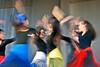 Dancing in the street (klauslang99) Tags: streetphotography klauslang dancing girls movement person people ybor city tampa