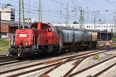 DB Cargo 261 074-9 Müllzug, Bremen Hbf (michaelgoll777) Tags: db gravita br261
