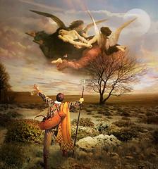 Rapture (jaci XIII) Tags: arrebatamento anjos pintura pessoa mulher homem rapture angels painting woman man person