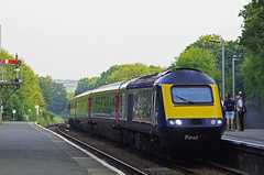 HST 43197 Liskeard 20 06 2017 (ROPERUNNER) Tags: hst43197 liskeard londonpaddington penzance railwaystation