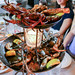 One of the best splurges in the city of Chicago  Roasted seafood tower ($175)