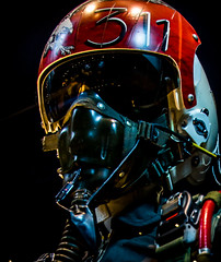 Pilot  portrait (Bert de Bruin) Tags: pilot f15 helmet pilotbeauty