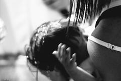 il momento del battesimo 3 (Clay Bass) Tags: angelina roccaforte battesimo bw d500 family hair nikon water
