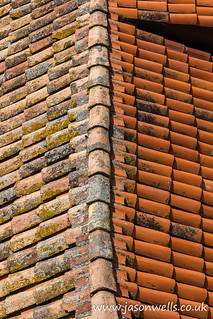 Old and new terracotta rooftops