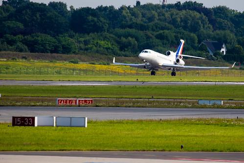 G20 Germany: Frankreich Dassault Falcon 7X