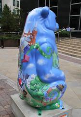 Birminghamshire Rear (ahisgett) Tags: birmingham children's hospital charity wild art big sleuth 2017 bearmingham