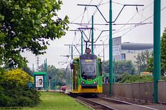 Moderus Beta MF02AC #430 (Łukasz Janowicz) Tags: moderus beta mf02ac 430 poznań mpkpoznań rondostarołęka linia17 tramwaj strassenbahn tram