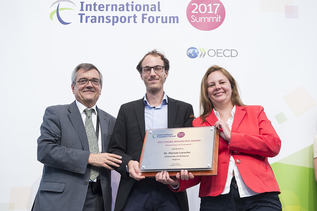 2017 Young Researcher Award winner: Dr. Florent Laroche