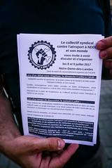 #19juin #FrontSocial #Nantes: RdV au festvial #NDDL 2017 ! (ValK.) Tags: frontsocial loitravail cgtago hsbc manifestation nantes politique valk zad bac banque mobilisation police rassemblement repression social france fr