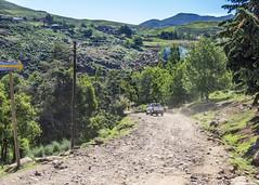 Dirt road (Hans van der Boom) Tags: holiday vacation southafrica lesotho zuidafrika semonkong maseru dirt road truck transport pickup lso