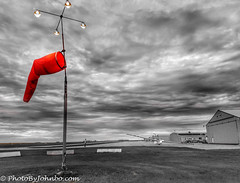 Windsock (photobyjohnbo) Tags: travel photography aviation windsock blanik glider cap