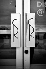 Sears Roebuck (ilovecoffeeyesido) Tags: searsroebuck glenbrooksquaremall glenbrookmall fortwaynein doorhandles vintagedoorhandles blackandwhite