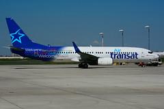 C-FYQN (Air Transat) (Steelhead 2010) Tags: airtransat boeing b737 b737800 yyz creg cfyqn