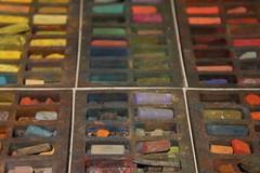 Pastels (notFlunky) Tags: dordogne france lot aquitaine holiday south west la vezier sarlat montignac colour color chalks pastels artist paints