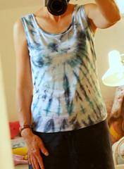 tie_dye_livia2 (Two_tango) Tags: nähen sewing summer top livia pattydoo tiedye batik simplicol jersey crafting kleidung garments diy