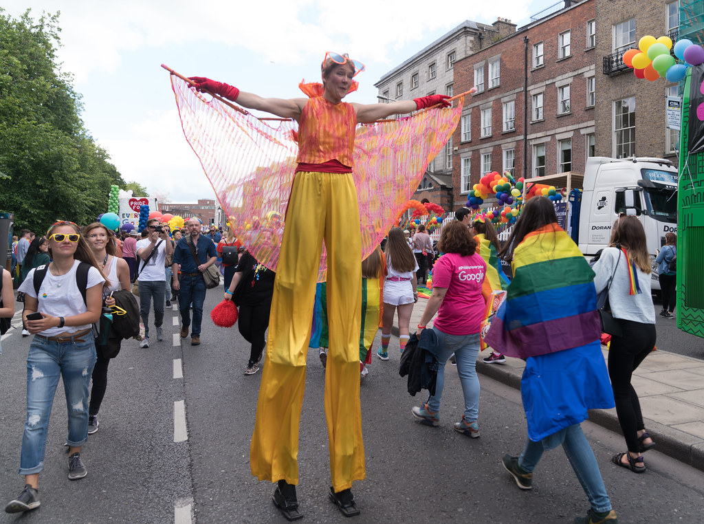 LGBTQ+ PRIDE PARADE 2017 [STEPHENS GREEN BEFORE THE ACTUAL PARADE]-129771