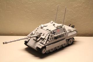 Panzerjӓger-Befehlswagen Panther - Jagdpanther - Sd.Kfz. 173 - Ausf. G1 [VERSION SIX]