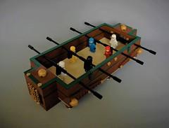 Lego Foosball - classic space edition (adde51) Tags: foitsop adde51 lego moc foosball table foosballtable football soccer ideas legoideas pub steampunk classic space classicspace