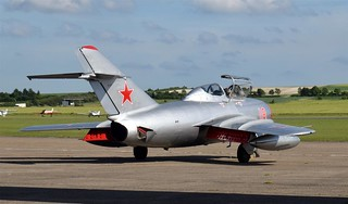 Mig 15 Preparing for take off