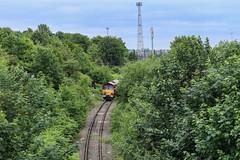 66057 Neville Hill Leeds 10th June 2017 (Andrew Shenton) Tags: thelancsyorksbuilder 66057 pathfindertours nevillehill hunsleteastbranch leeds 1z59