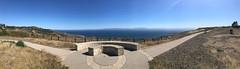 061 Santa Catalina Island From Del Cerro Park (saschmitz_earthlink_net) Tags: 2017 california ranchopalosverdes hill park delcerropark circle bench santacatalinaisland island pacificocean ocean