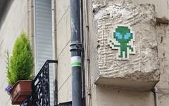 Mr Djoul_7360 rue Lecourbe Paris 15 (meuh1246) Tags: streetart paris mrdjoul ruelecourbe paris15 alien mosaïque