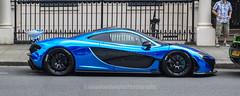 Blue Chrome McLaren P1 (jonnydouglas95) Tags: mclarenp1 p1 mclaren awesome amazing hypercar blegravesquare london uk scotland automotive photography bluechrome chrome blue fast hybrid love ferrari pagani huayra bc huayrabc arab cars belgrave square brexit