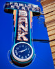 Time to Cash In! (Owen Dett) Tags: colorado bank maney cash neon sign clock time save small town city