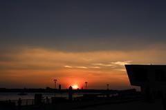 Just another sundown over River Mersey (grobigrobsen) Tags: liverpool merseyside england britain uk sundown evening sky eveningsky sunset abends