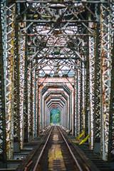 Is There a Light Up Ahead? (Thomas Hawk) Tags: america oregon oregoncoast reedsport usa unitedstates unitedstatesofamerica bridge trainbridge us fav10 fav25 fav50 fav100